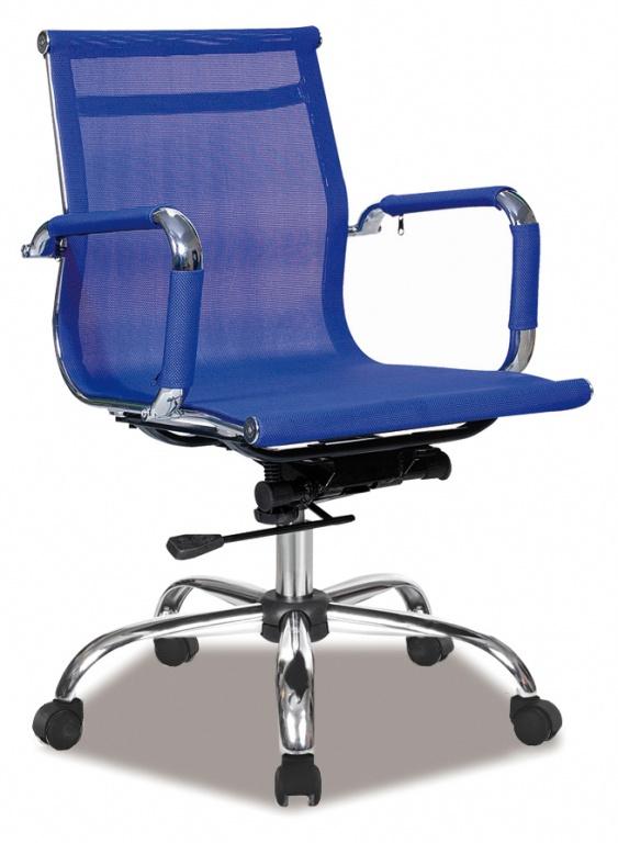 Bureaustoel Boss blauw