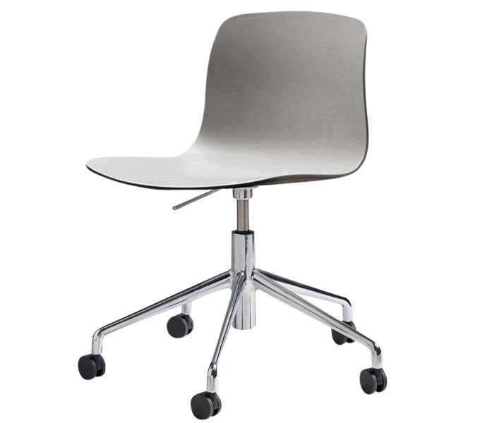 HAY About a Chair AAC50 gasveer bureaustoel-Grijs